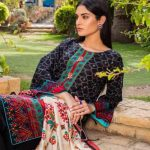Signature Icon D-07 Lawn 3pc Suit