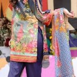 Colours D-10 Lawn 3pc Suit