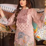 Aalaya V16-03 Lawn 3pc Suit