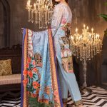 Aalaya V16-06 Lawn 3pc Suit
