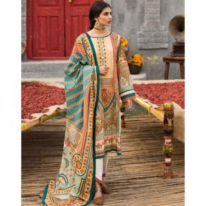 Afsaneh Master Replica (Arsh) Lawn 3pc Suit