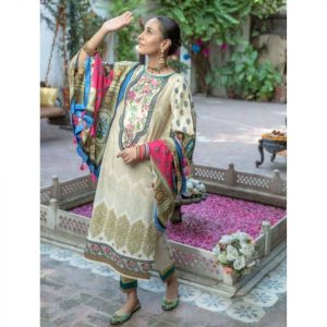 Afsaneh Master Replica (Turkish) Lawn 3pc Suit