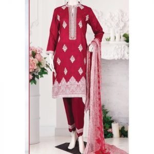 Malhaar Embroidery Collection d-02 Lawn 3pc Suit