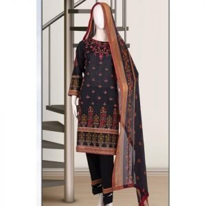 Malhaar Embroidery Collection d-10 Lawn 3pc Suit