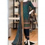 Malhaar Embroidery Collection d-08 Lawn 3pc Suit