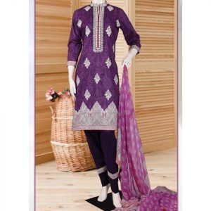 Malhaar Embroidery Collection d-05 Lawn 3pc Suit