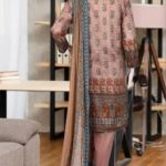 Malhaar Embroidery Collection d-13 Lawn 3pc Suit