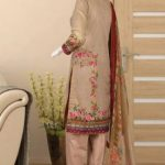 Malhaar Embroidery Collection d-14 Lawn 3pc Suit