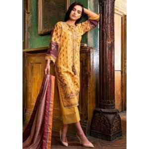 Sobia Nazeer Replica D-168A Lawn 3pc Suit