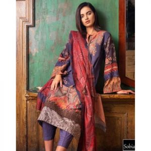 Sobia Nazeer Replica D-173A Lawn 3pc Suit