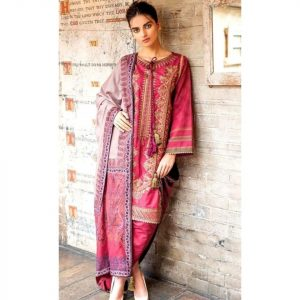 Sobia Nazeer Replica D-125A Lawn 3pc Suit