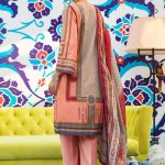 Regalia Digital Embroidered d-01 Lawn 3pc Suit
