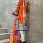 Regalia Digital Embroidered d-11 Lawn 3pc Suit