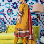 Regalia Digital Embroidered d-07 Lawn 3pc Suit