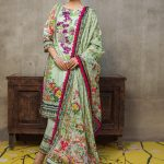 Regalia Digital Embroidered d-08 Lawn 3pc Suit
