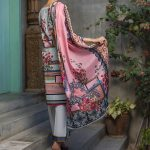 Regalia Digital Embroidered d-10 Lawn 3pc Suit
