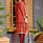 Bin Saeed by Mysoori d-02a 3pc Lawn Suit