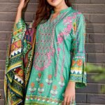 Bin Saeed by Mysoori d-02b 3pc Lawn Suit