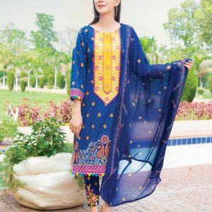 Rangrez Vol-15 3pc Lawn Suit d-01