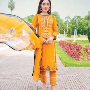 Rangrez Vol-15 3pc Lawn Suit d-08