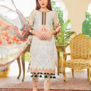 Rangrez Vol-15 3pc Lawn Suit d-09