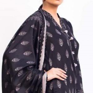 Rang Reza B&W d-03 3pc Lawn Suit