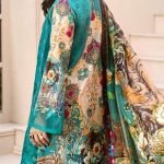 Saadia Asad Replica (Master Copy) d-507a 3pc Suit