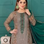 LaBelle Soiree Chiffon 3pc Suit d-9143