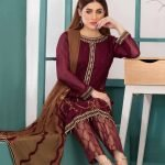 LaBelle Soiree Chiffon 3pc Suit d-9146