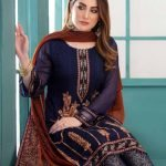 LaBelle Soiree Chiffon 3pc Suit d-9148