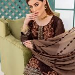 LaBelle Soiree Chiffon 3pc Suit d-9150