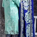 Mishal Linen Embroidered 3pc Suit d-06