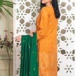 Fabulous Flairs by MTF Lawn Embroidered Jacquard Banarsi d-02