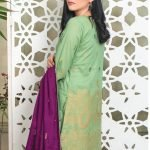 Fabulous Flairs by MTF Lawn Embroidered Jacquard Banarsi d-03