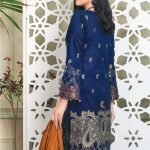 Fabulous Flairs by MTF Lawn Embroidered Jacquard Banarsi d-05