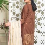 Fabulous Flairs by MTF Lawn Embroidered Jacquard Banarsi d-06