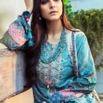 Maria.B M Print Replica King Copy 3pc Lawn Suit d-1A
