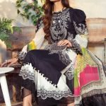 Maria.B M Print Replica King Copy 3pc Lawn Suit d-2B