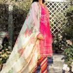 Maria.B M Print Replica King Copy 3pc Lawn Suit d-4A