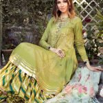 Maria.B M Print Replica King Copy 3pc Lawn Suit d-4B