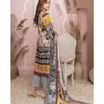Casual Cool by MTF Digital Printed Lawn with Mirror Work d-07