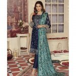 Mariam Ayesha Unstitched 3pc Printed Lawn Suit d-01A