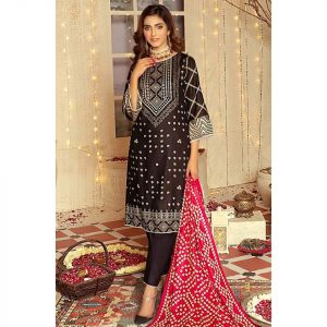 Mariam Ayesha Unstitched 3pc Printed Lawn Suit d-01B