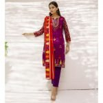 Mariam Ayesha Unstitched 3pc Printed Lawn Suit d-02A