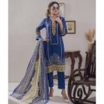 Mariam Ayesha Unstitched 3pc Printed Lawn Suit d-05B