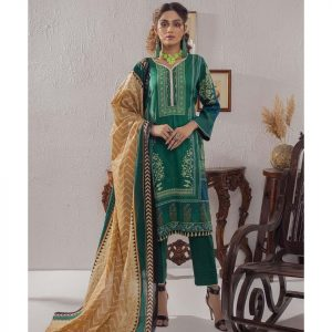 Mariam Ayesha Unstitched 3pc Printed Lawn Suit d-06A