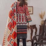 Mariam Ayesha Unstitched 3pc Printed Lawn Suit d-07B