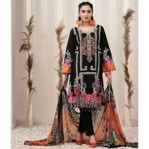 RENEE by Tawakkal Unstitched 3pc Embroidered Lawn Suit d-1451A