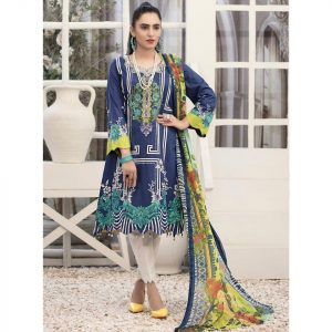RENEE by Tawakkal Unstitched 3pc Embroidered Lawn Suit d-1451B