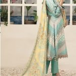RENEE by Tawakkal Unstitched 3pc Embroidered Lawn Suit d-1452A
